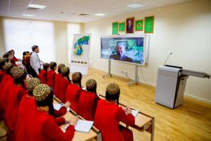 Лекция для Туркменского государственного университета имени Махтумкули