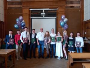 Поздравляем наших выпускников