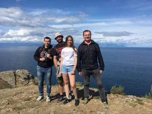 Экспедиция кафедры РПП на Байкал