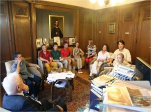 Рабочий визит делегации географического факультета МГУ в Сербию