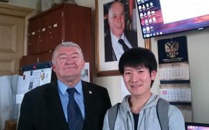 Завершена стажировка Сюнсея Танака на географическом факультете